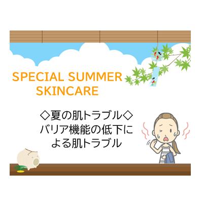 ☀夏の肌トラブルの要因は☀~2つ目は・・・?~ - プライベートサロン MISUZU(ミスズ) - ブログ