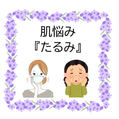 """見た目年齢をあげる""""たるみ""""① - プライベートサロン MISUZU(ミスズ) - ブログ"""